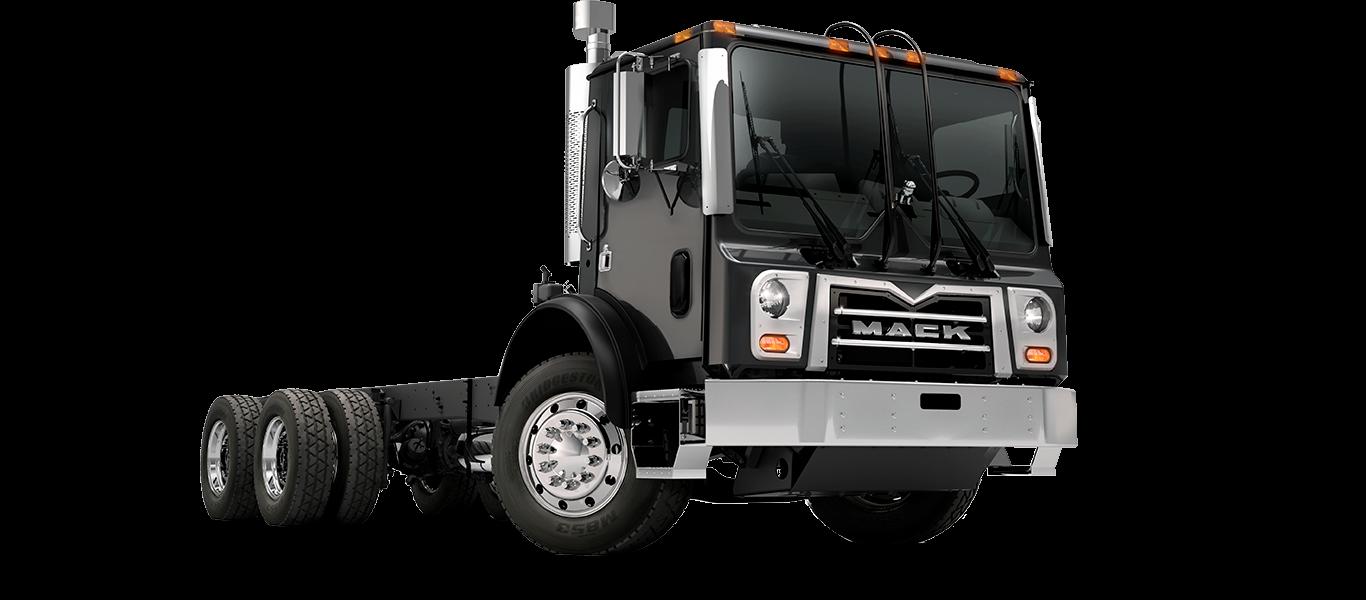 Mack TerraPro truck pass quarter
